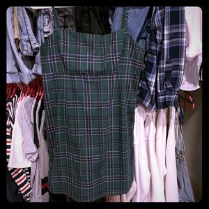 Cute Urban Outfitters plaid dress!